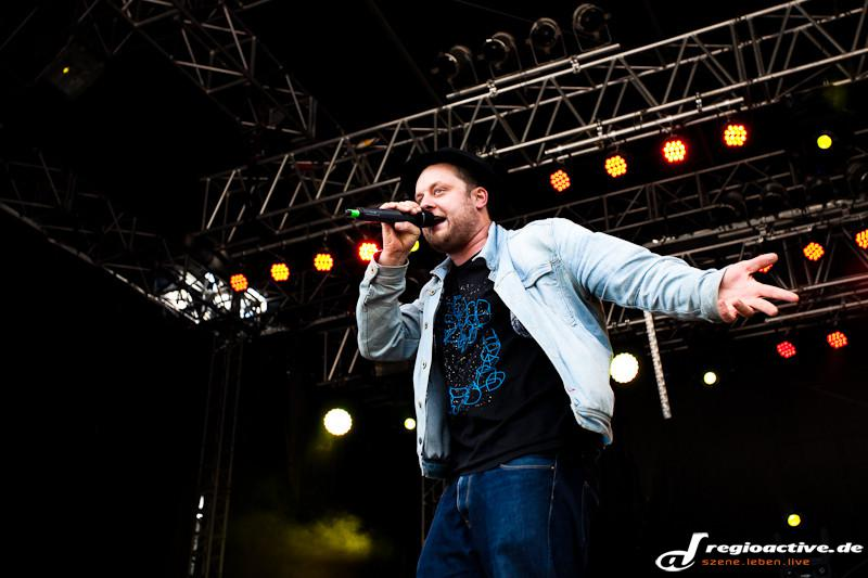 Fatoni (live beim Mini-Rock-Festival in Horb, 2015)