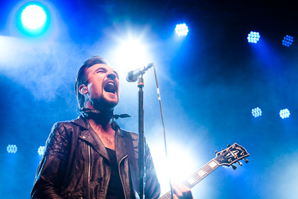 Festivalerprobt - Fotos: Royal Republic live beim Mini-Rock-Festival 2015 in Horb am Neckar