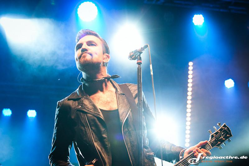 Royal Republic (live beim Mini-Rock-Festival in Horb, 2015)