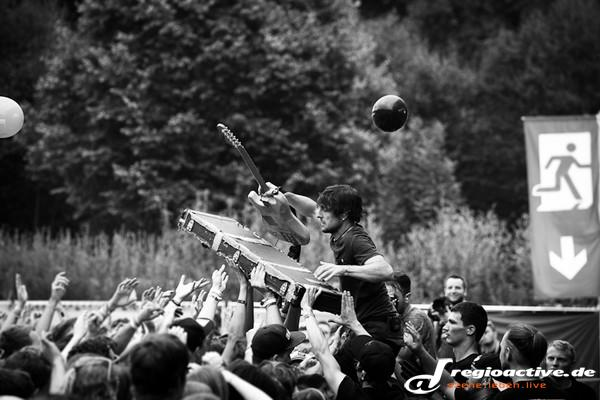 Punkig - Fotos: Itchy Poopzkid live beim Mini-Rock-Festival 2015 in Horb am Neckar