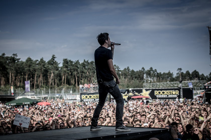 Einfach gut - Fotos: Simple Plan live bei Rock'n'Heim 2015