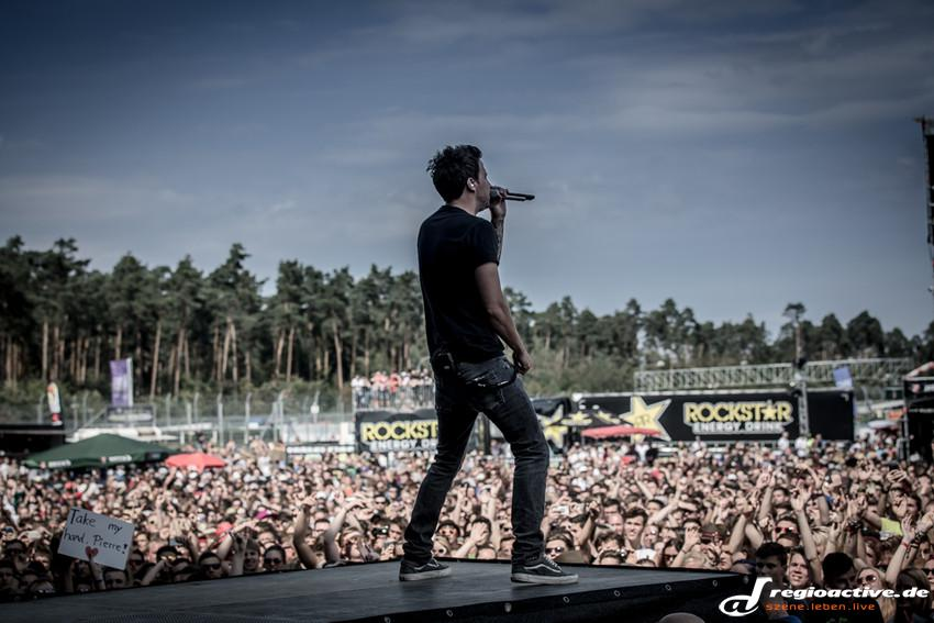 Simple Plan (live beim Rock'n'Heim, 2015)
