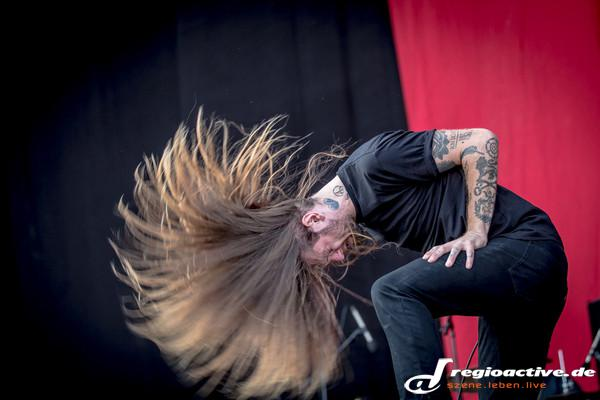 Niemand schläft! - Fotos: While She Sleeps live bei Rock'n'Heim 2015